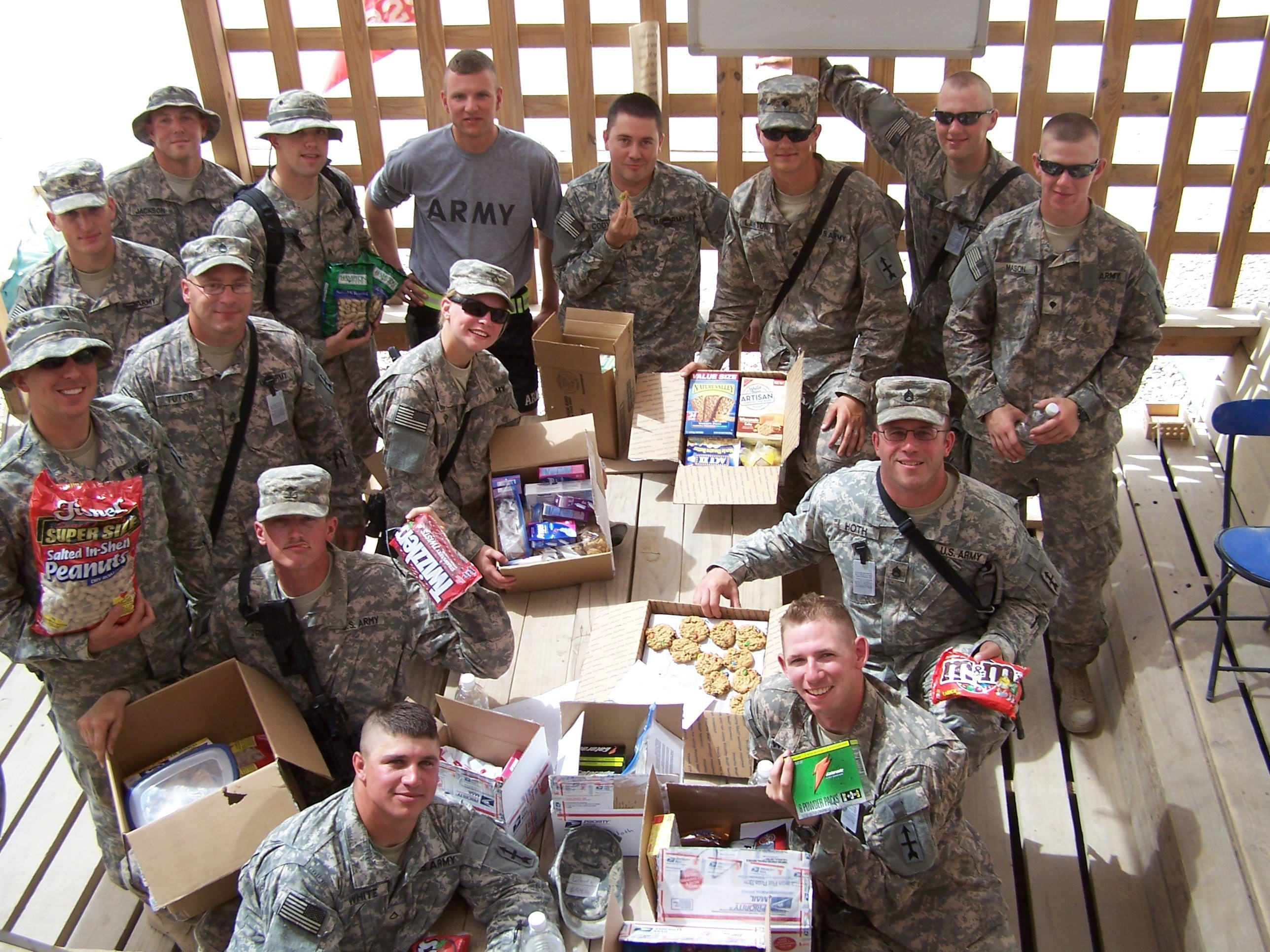 Troop Care Packages 2013