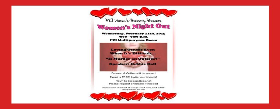 Womens Night Out 2-15